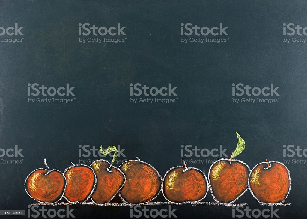 Back to School.Copy Space. royalty-free stock vector art