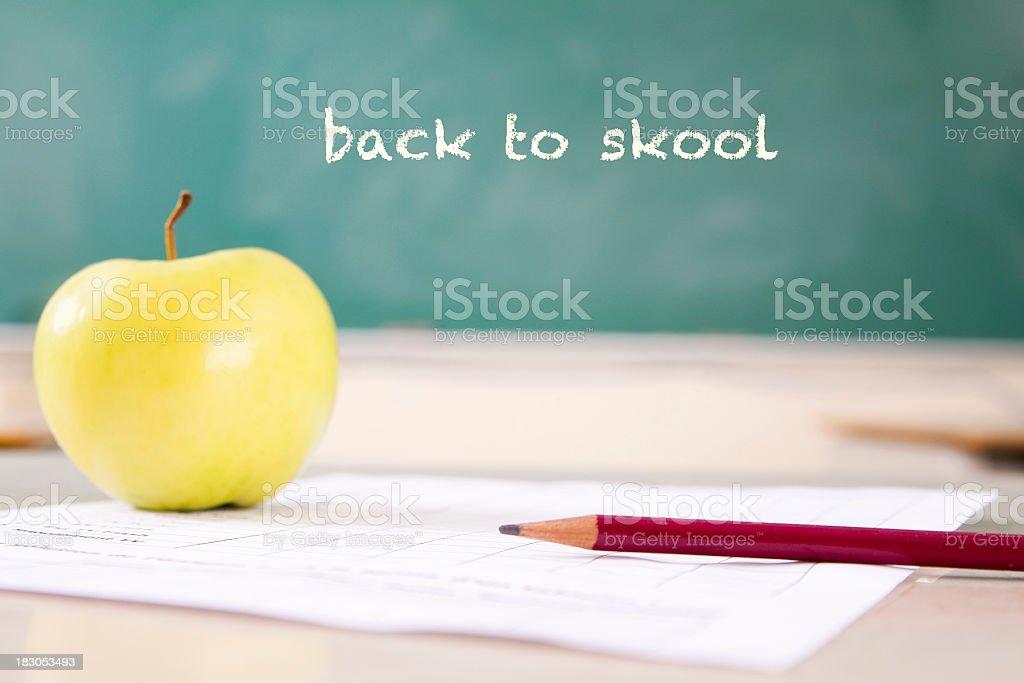 Back to Skool stock photo