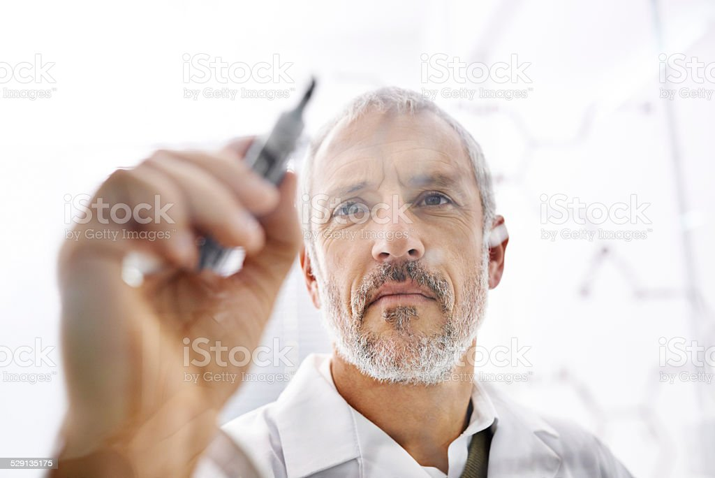 Back to the drawing board... stock photo