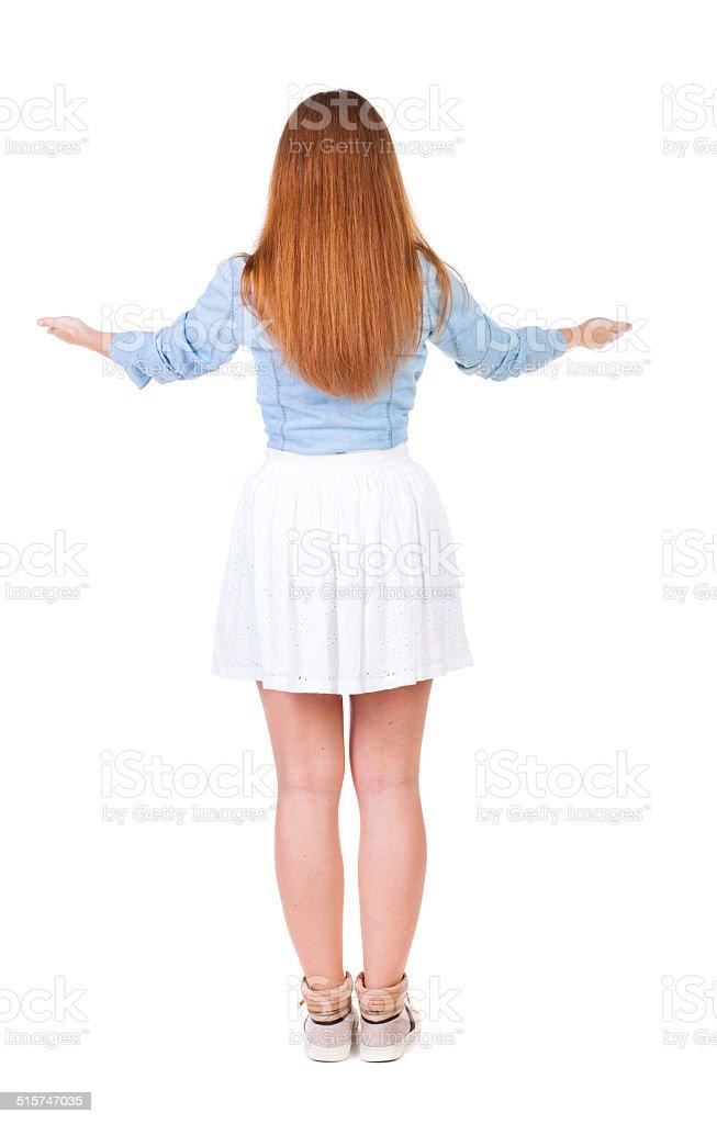 Вид сзади красивые платья