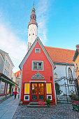 Back view to Holy Spirit Church in Tallinn