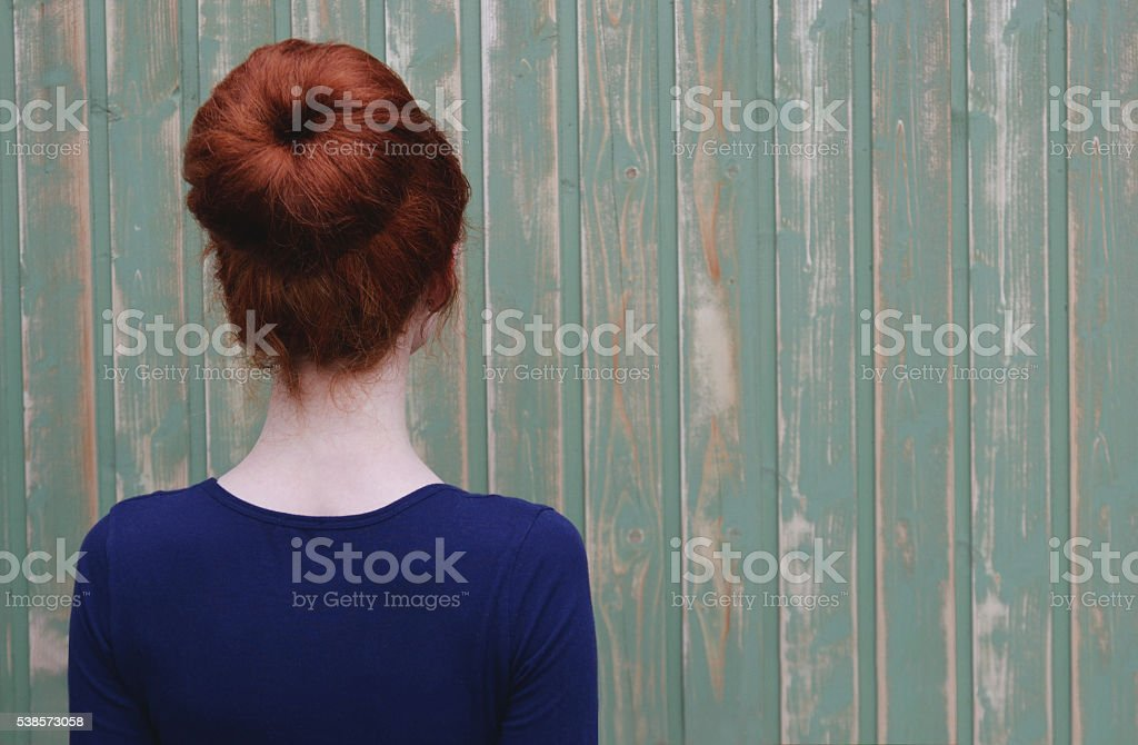 back view.wood background stock photo