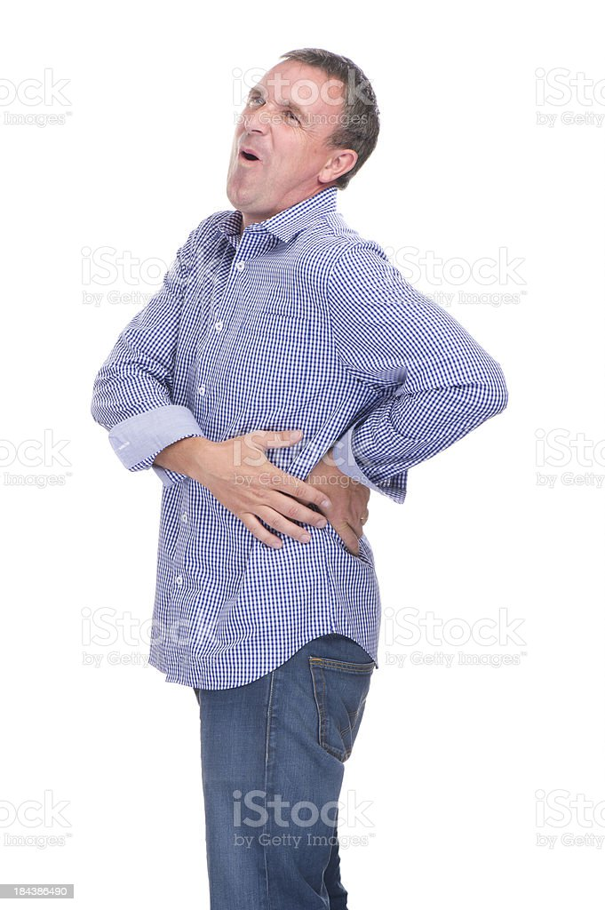 backache royalty-free stock photo