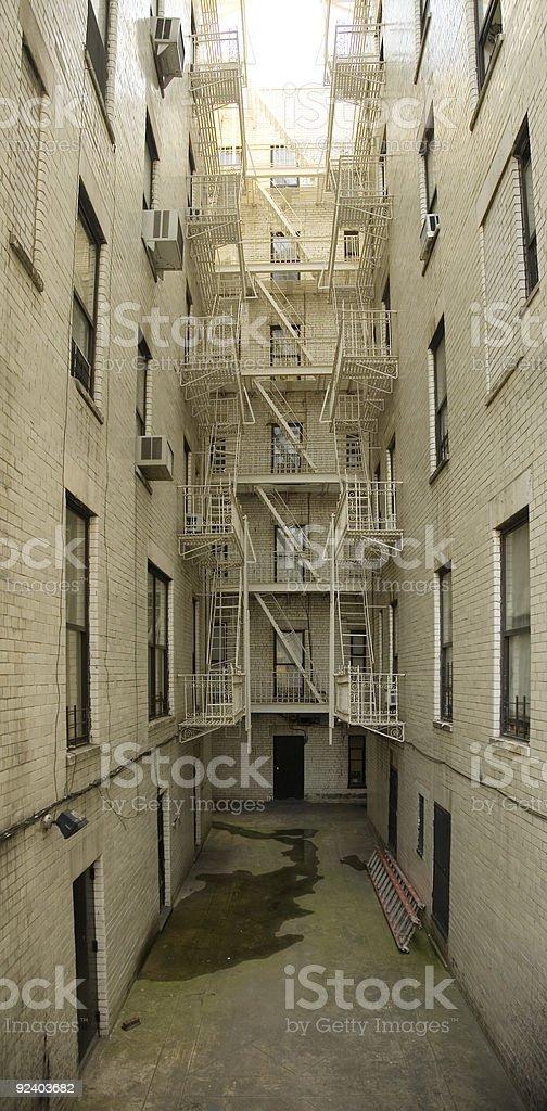 backalley royalty-free stock photo