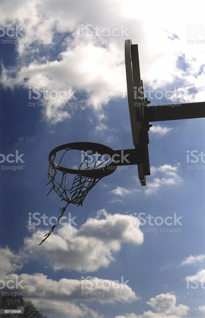 Backboard Breeze royalty-free stock photo