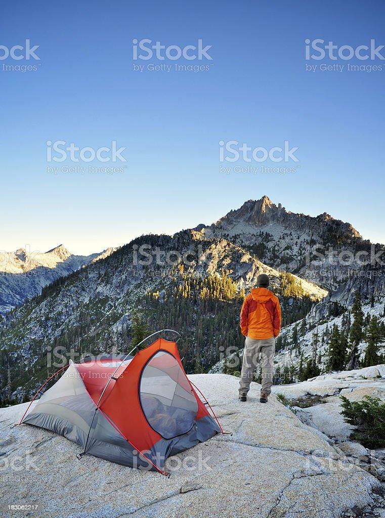 Backcountry Morning royalty-free stock photo