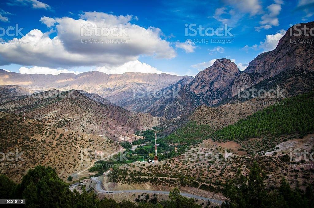 Backcountry Morocco stock photo