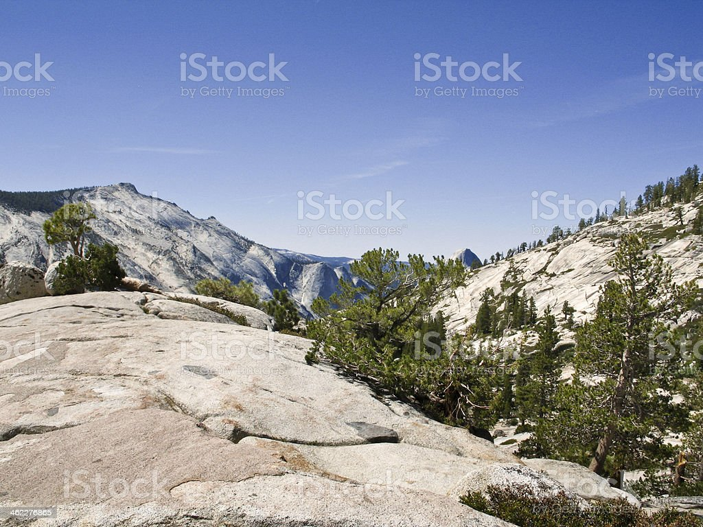 Backcountry of Yosemite California stock photo