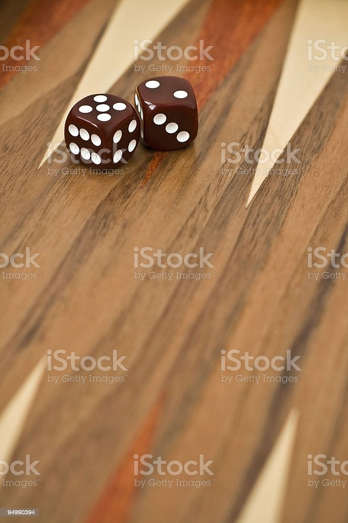 backgammon royalty-free stock photo