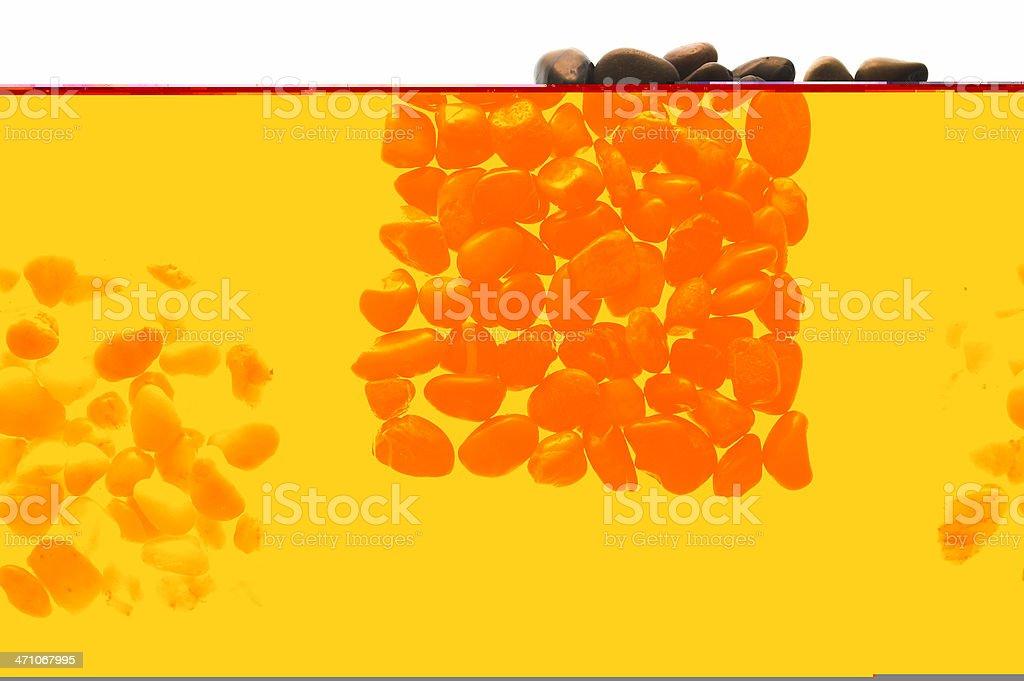 Backgound: pebbels royalty-free stock photo