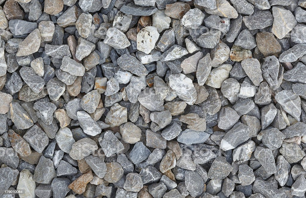 Background and texture of gray granite gravel royalty-free stock photo