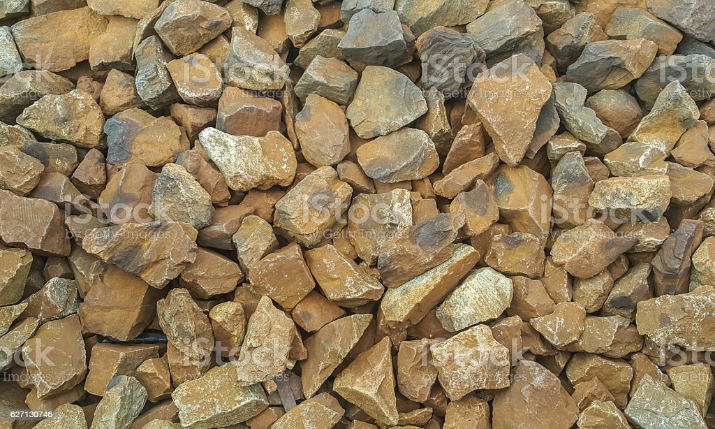 Background and texture of stone railway stock photo