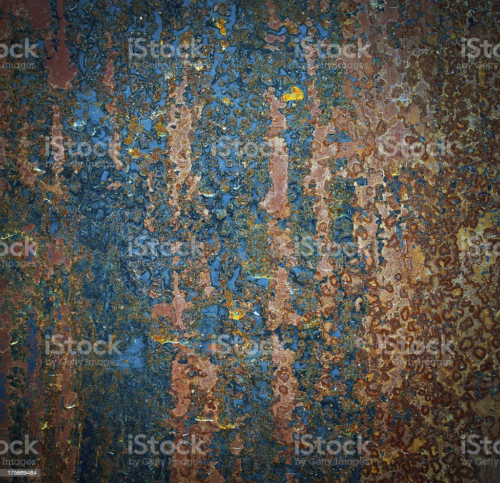 Background and texture old rust royalty-free stock photo