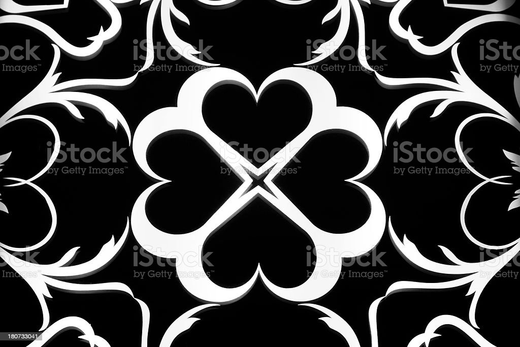 Background:  Black and white pattern.  Building architecture. royalty-free stock photo