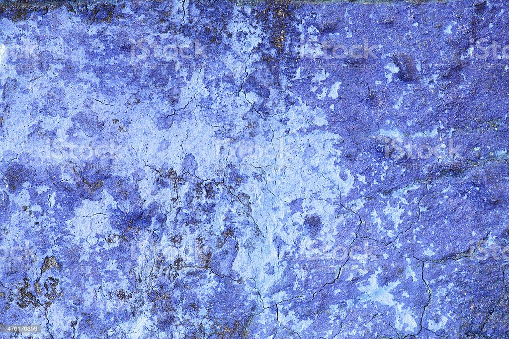 Background - Blue weathered wall royalty-free stock photo
