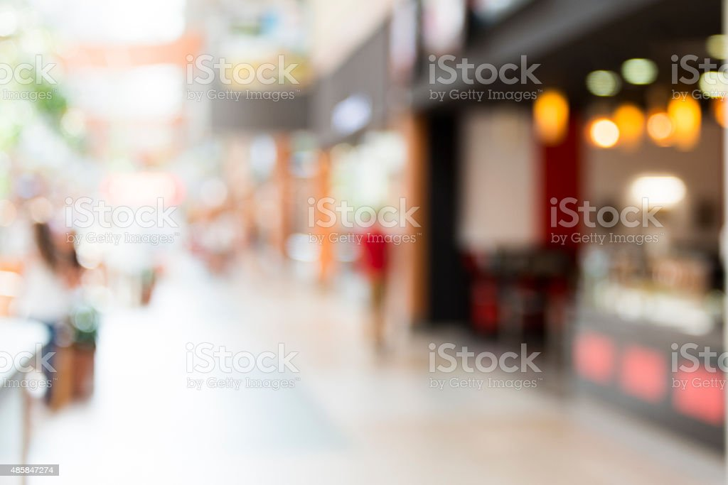 Background blured store stock photo