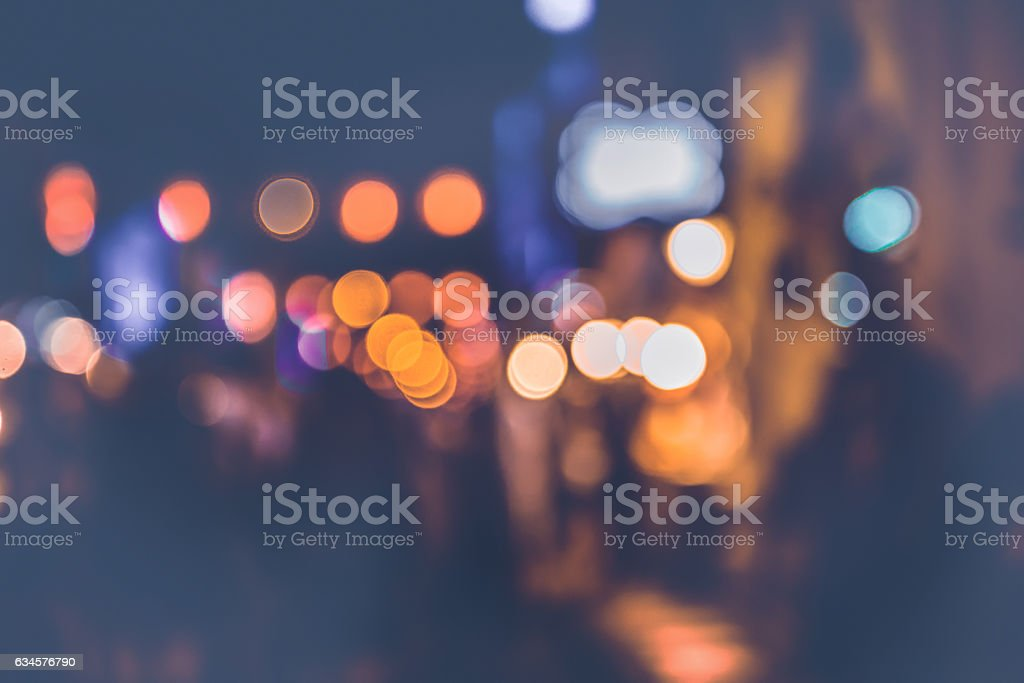 background blurred bokeh. Lights Ceremonies stock photo