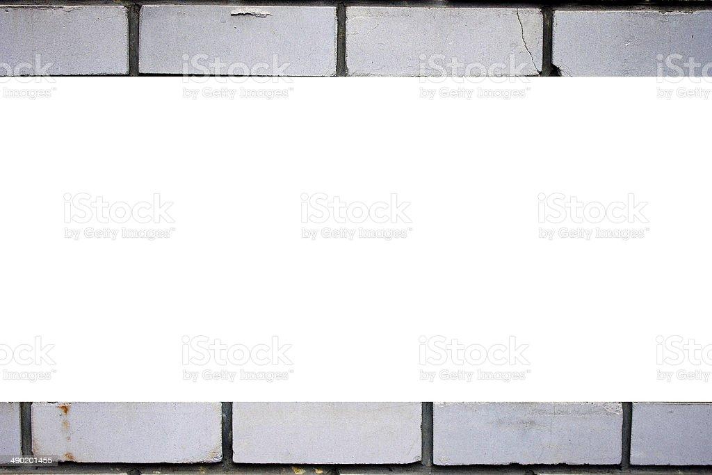background brick wall of white brick royalty-free stock photo