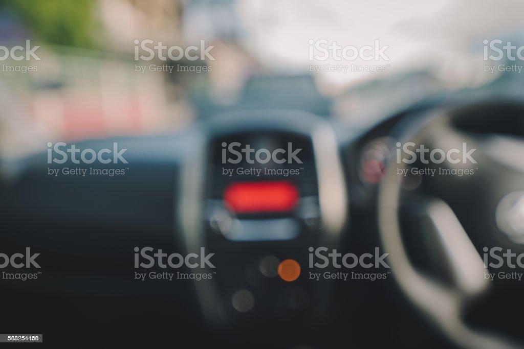 Background Car Interior stock photo