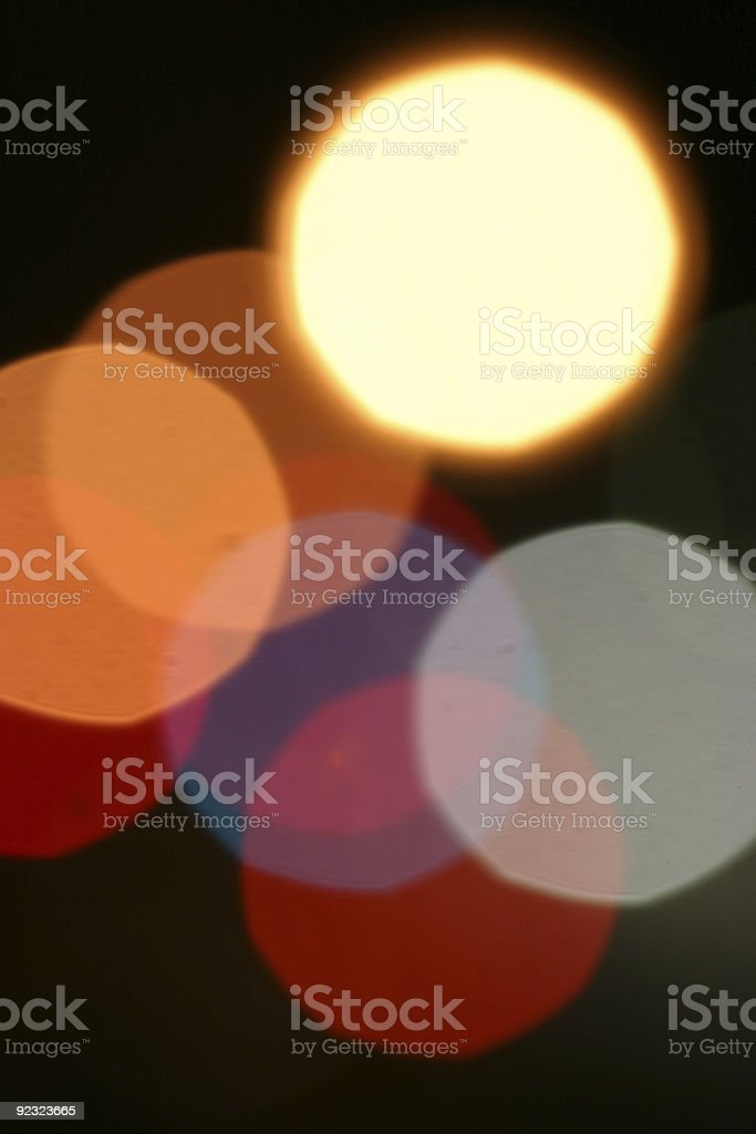 Background - Colored light cluster 1 royalty-free stock photo