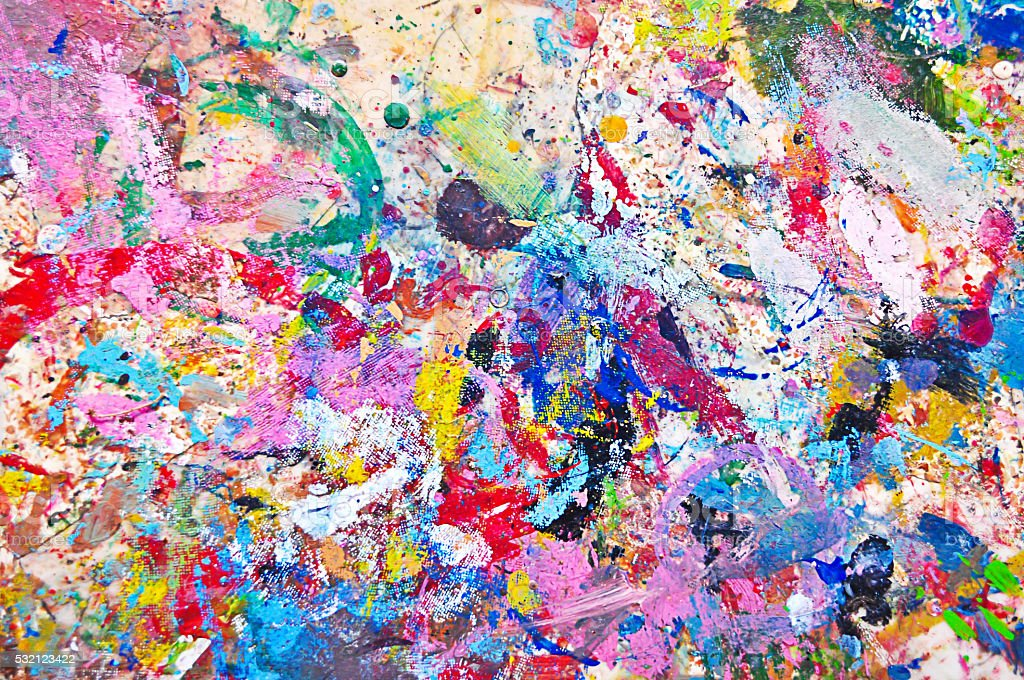 Background Colorful Paint stock photo