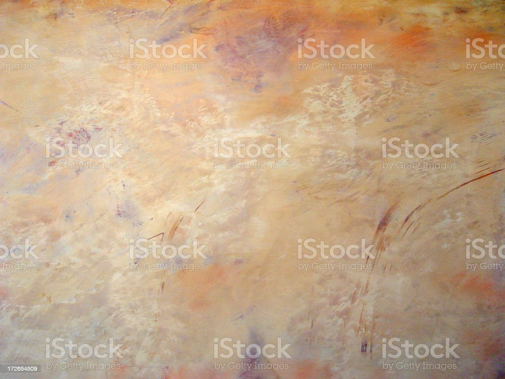 Background: Colorful Southwestern Plaster royalty-free stock photo