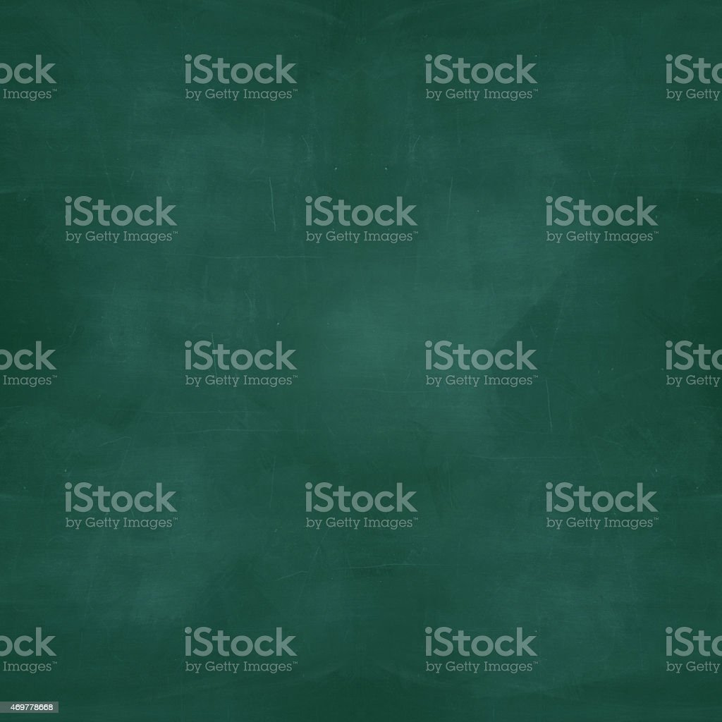 Background dark green, blank, chalkboard stock photo