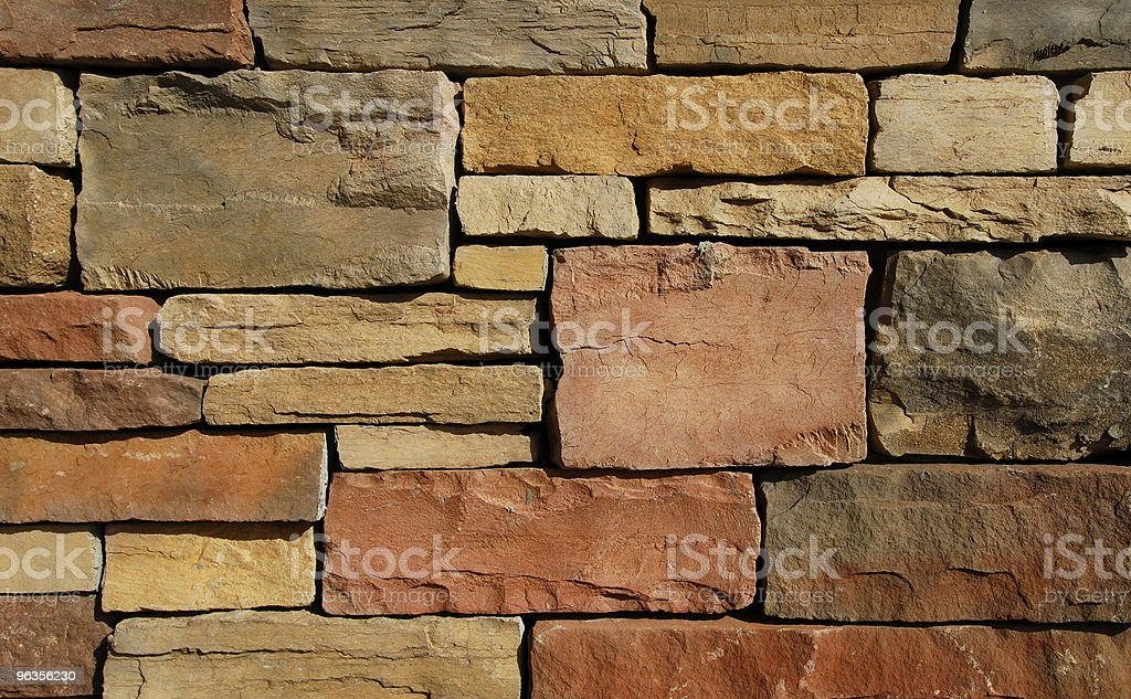 Background Flagstone Closeup stock photo