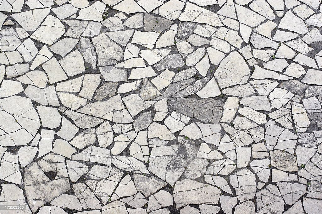 Background - Flat Stones royalty-free stock photo