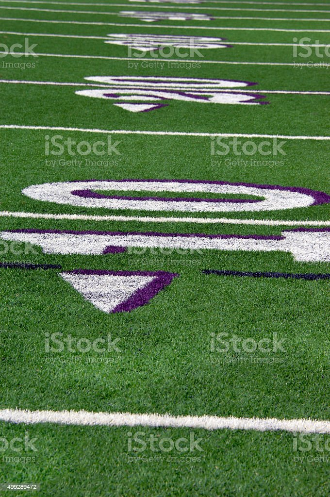 Background Football field stock photo