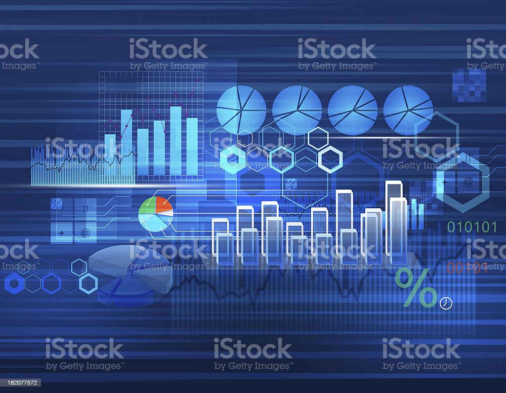 Background for business stock photo