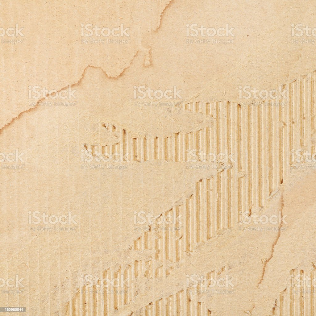 background from torn cardboard royalty-free stock photo