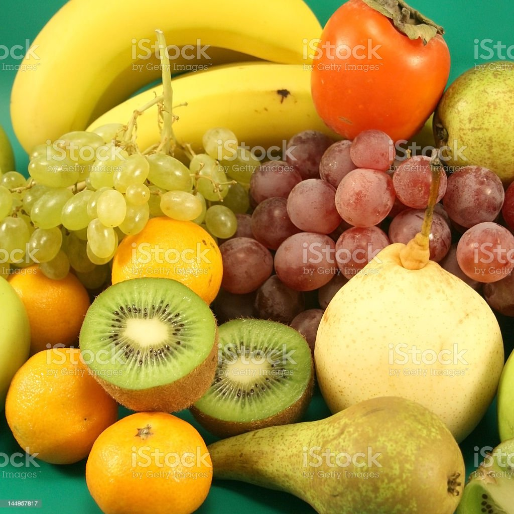 Background from various fruit. royalty-free stock photo