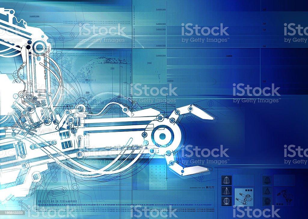 Background - Futurisme - 04 stock photo
