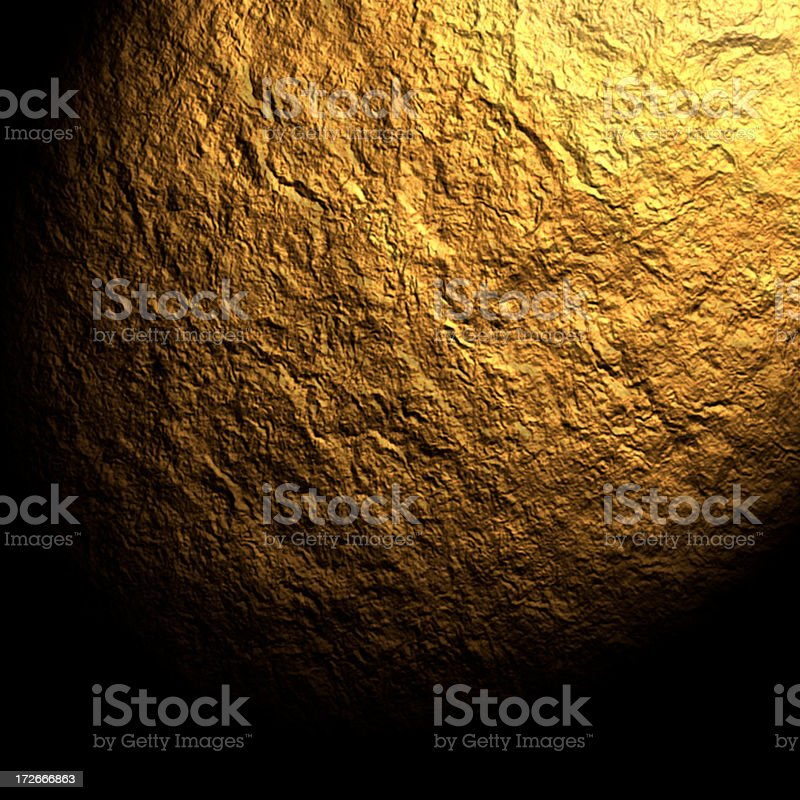 Background Gold Texture royalty-free stock photo