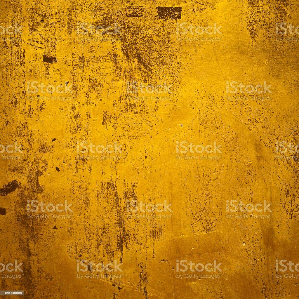 Background: Golden grunge texture royalty-free stock photo