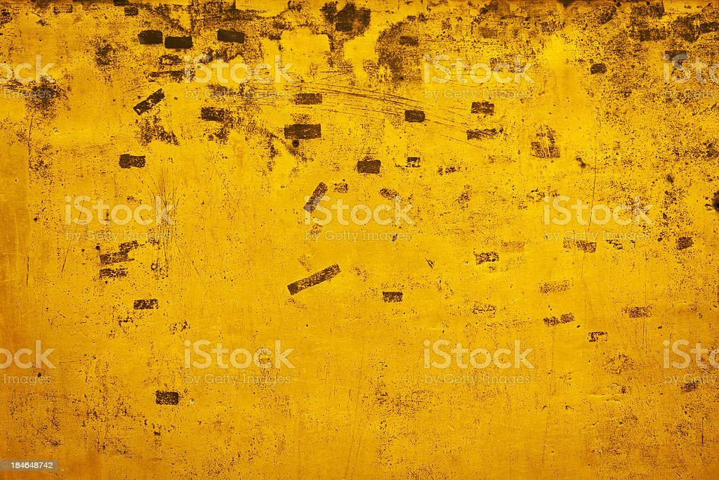 Background: Golden grunge texture royalty-free stock photo