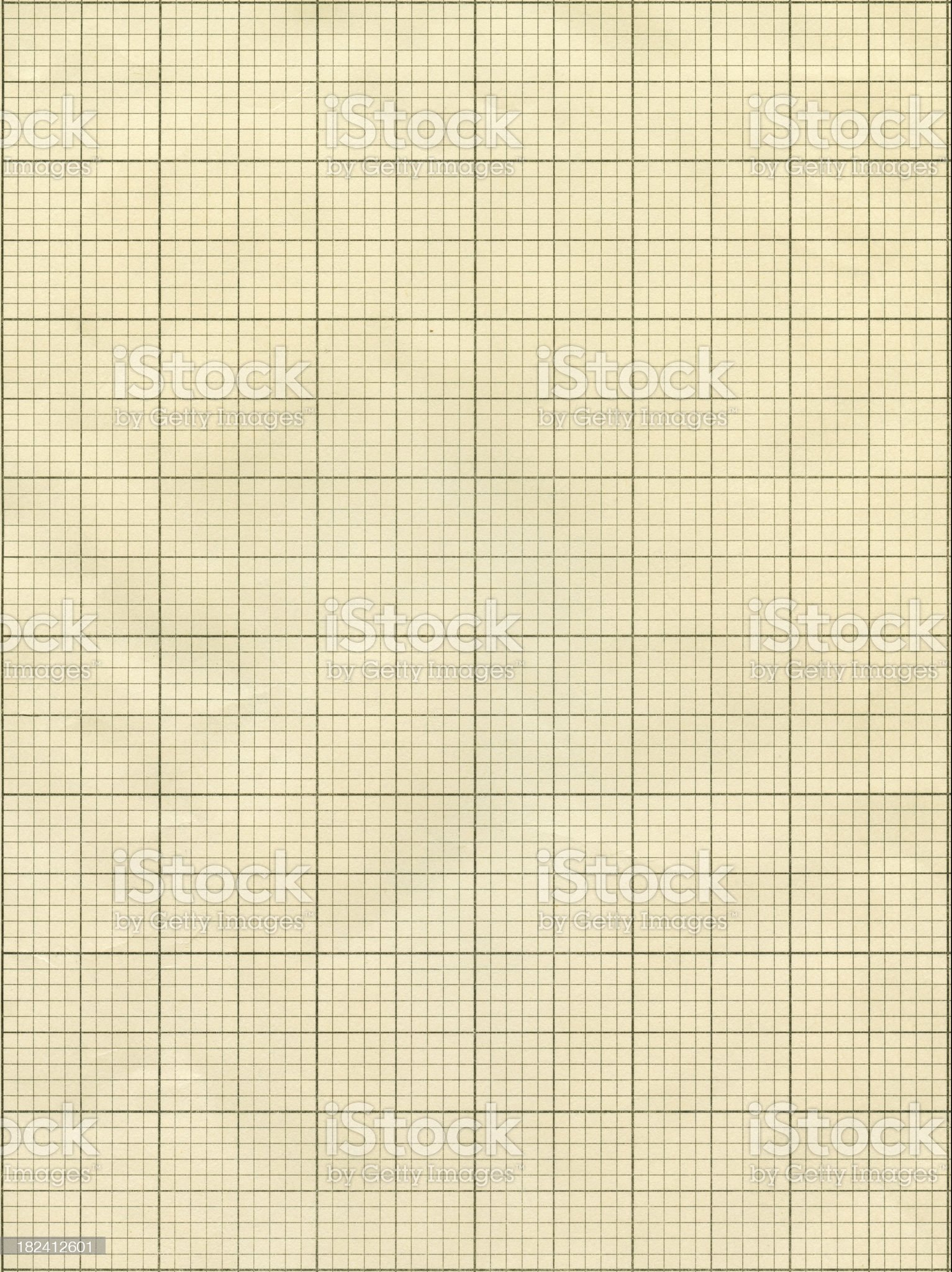 Background graphic of beige grid paper royalty-free stock photo