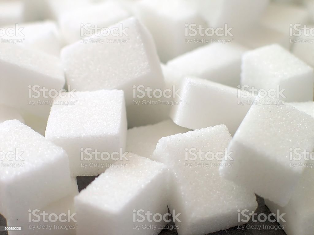 Background graphic of white sugar cubes royalty-free stock photo