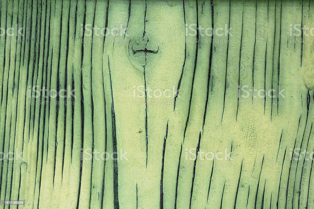 Background: Green weatherd wood stock photo