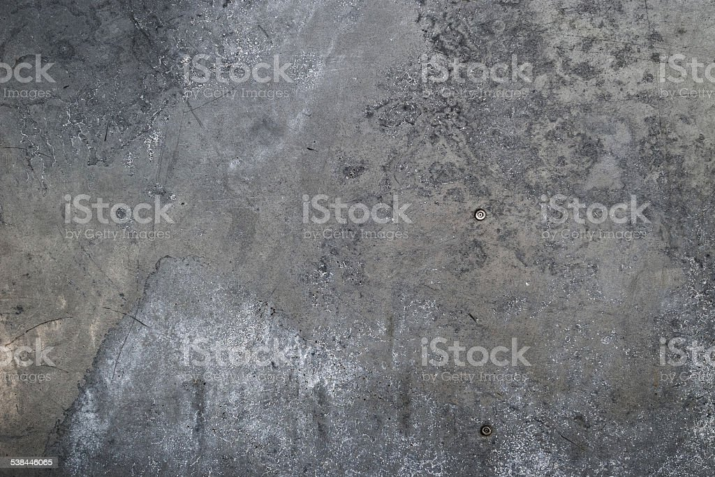 Background: grungy galvanised steel sheet stock photo