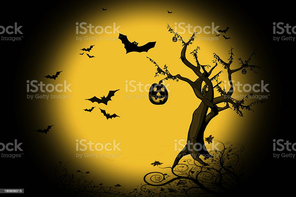 Background Halloween royalty-free stock photo