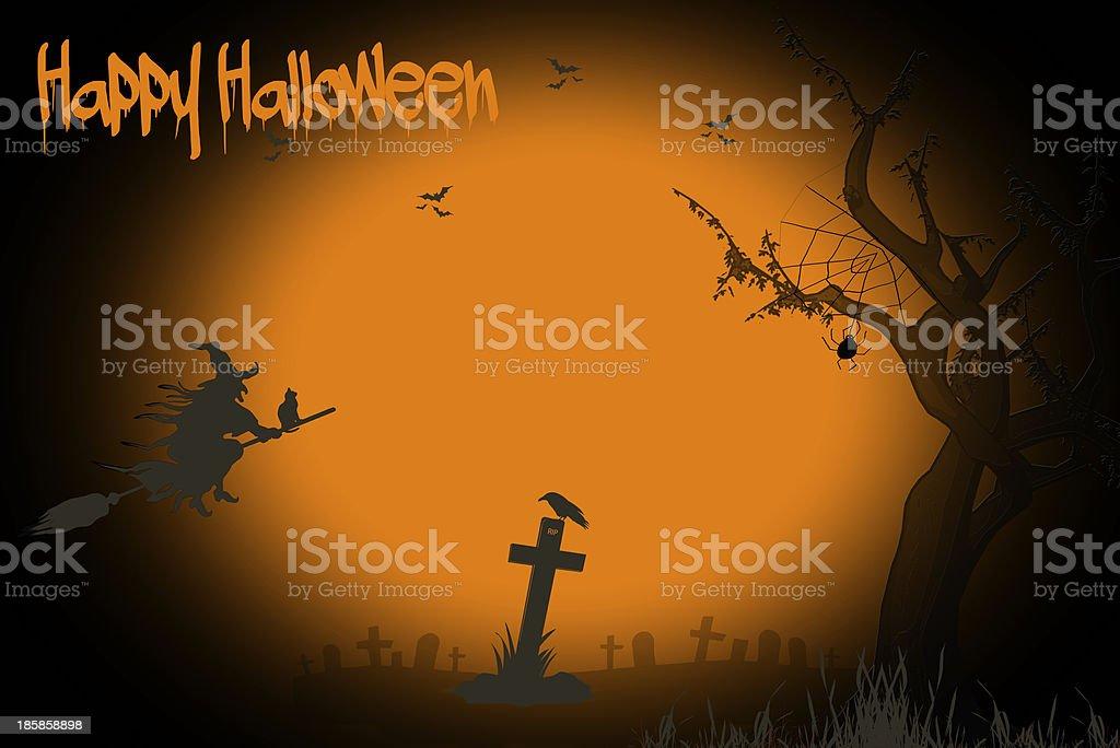 Background Halloween royalty-free stock photo