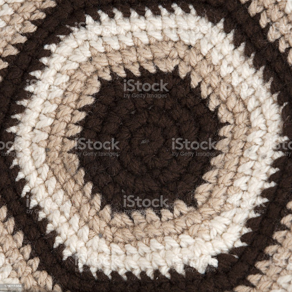 Background hand woven fabric royalty-free stock photo