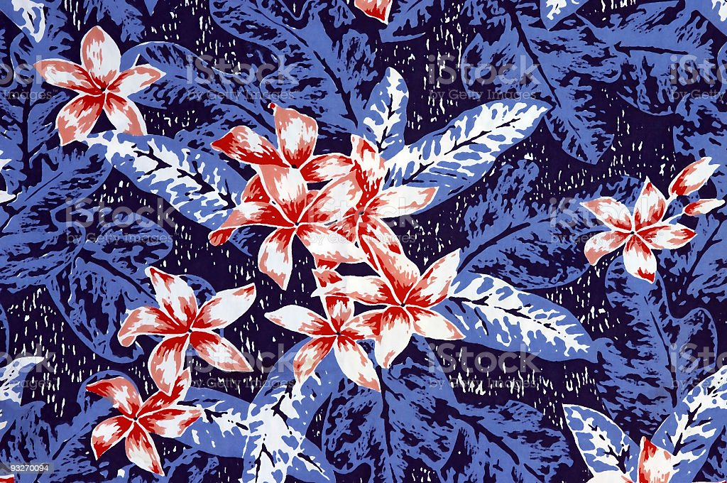 Background - Hawaiian Shirt #1 royalty-free stock photo