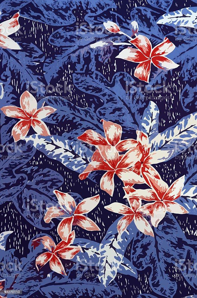 Background - Hawaiian Shirt #1 royalty-free stock photo