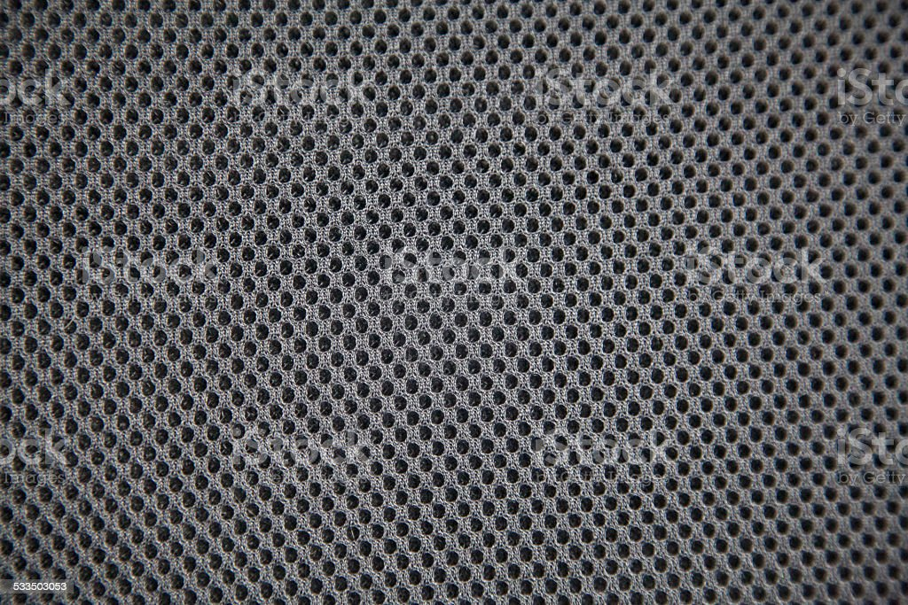 Background holes spots gray pattern textile material nylon clothing cotton stock photo