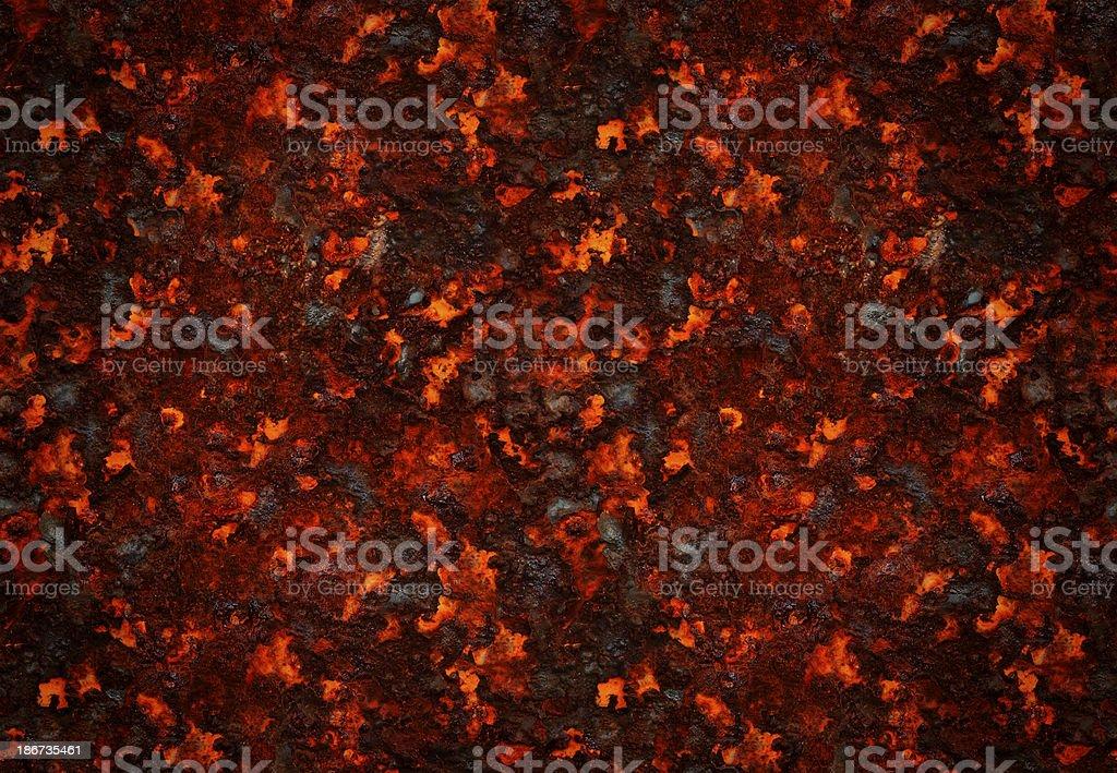 Background: Hot molten lava stock photo