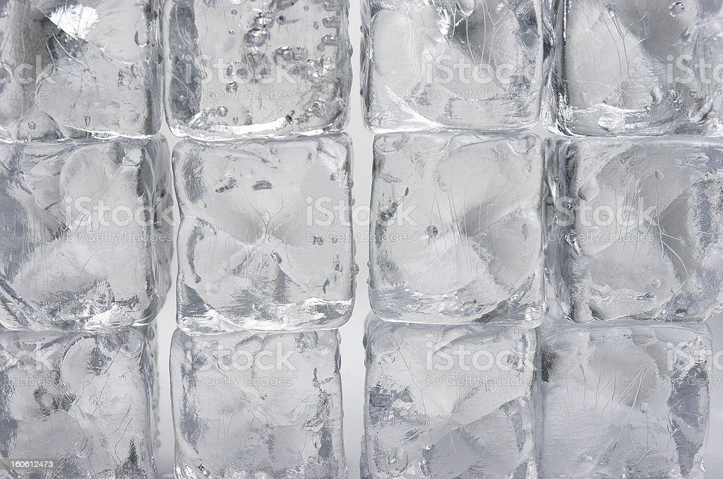 Background ice cubes royalty-free stock photo