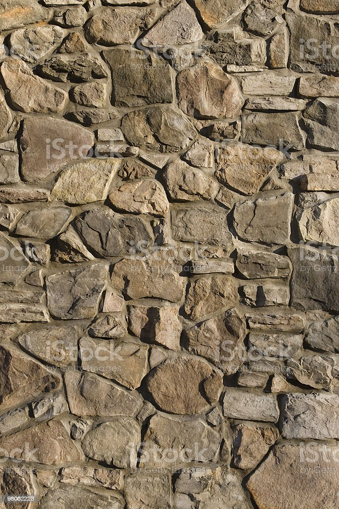 Background image of brown stone wall royalty-free stock photo